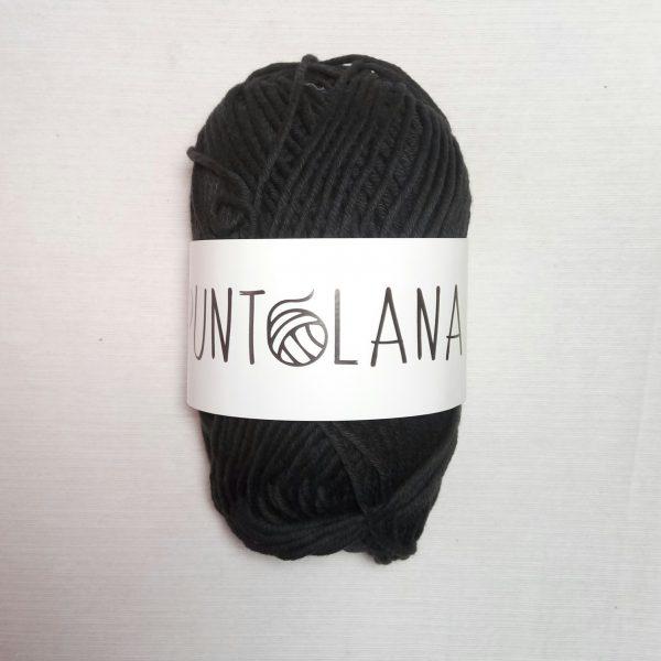 hilo algodón 12/12 negro