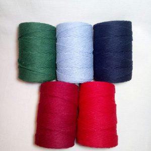 hilo algodón rústico 27 hebras